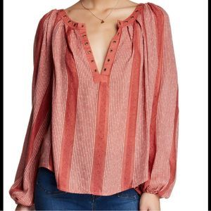 Free PeopleAgainst All Odds Blouse